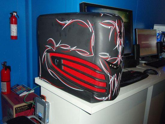 Alienware heeft watergekoeld Skulltrail systeem op 4GHz