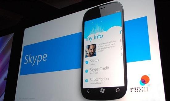 Skype en WP7