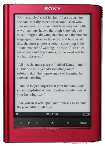 Sony Reader Touch Edition PRS650