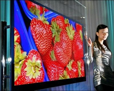 Super HD schermen moeten nog op de markt komen