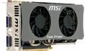 MSI rust GTS250 uit met Twin Frozr koeling
