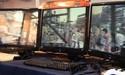 3D beelden over drie schermen bij Sapphire