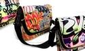 Randapparatuur en accessoires met graffiti