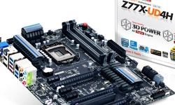 Gigabyte launches Z77X-UD4H motherboard