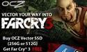 OCZ geeft Far Cry 3 gratis weg bij aankoop van Vector SSD