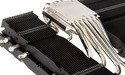 Black Prolimatech MK-26 graphics card cooler