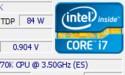 Intel Core i7 4770K overklokt naar 5,0 GHz met slechts 0,9 volt