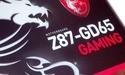 Ook MSI Z87-GD65 Gaming moederbord op de foto gezet