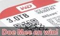 Win een Western Digital Red 3TB disk