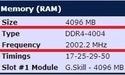 G.Skill DDR4-geheugen overklokt naar 4 GHz