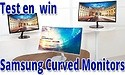 Test en win een Samsung Curved monitor!
