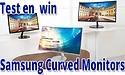 Test en win een Samsung Curved monitor!