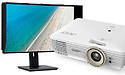 Beamers en professionele monitor van Acer met UHD-resolutie