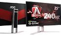 Nieuwe AOC gaming monitor met 240Hz en G-Sync