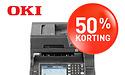 50% korting op de OKI MC573: slim document management voor het MKB