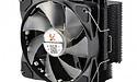 X2 rust matzwarte CPU-koelers uit met rgb-verlichting