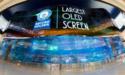 LG hangt OLED-wand van 50 bij 14 meter op in Dubai