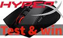 Test en win een HyperX Pulsefire FPS gaming muis!