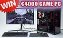 Win een game pc ter waarde van 4000 euro!