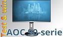 Test en win (beeld)kwaliteit op je bureau: ervaar de AOC 90-serie monitoren zelf!