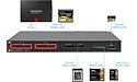 Atech's Blackjet UX-1 Cinema Dock leest 2 SSD's en 5 verschillende geheugenkaarten tegelijkertijd