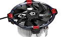 Nieuwe DK-03 Halo AMD Red CPU-koeler bij ID-Cooling