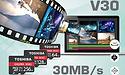 MWC: Toshiba presenteert V30 Exceria microSDXC-kaarten geoptimaliseerd voor 4K UHD-opnames