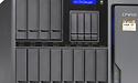16-bay Qnap met Ryzen-CPU en QuAI artificiële intelligentie ondersteuning