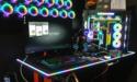 Computex: Verstelbaar gaming-bureau met RGB-verlichting bij Thermaltake
