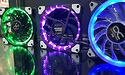 Alphacool toont nieuwe Eiszyklon RGB fan en Aurora LED ring