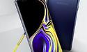 Productafbeelding Samsung Note 9 gelekt: eveneens gele stylus te zien