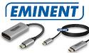 Eminent introduceert USB Type-C naar DisplayPort en HDMI converters