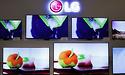LG verdubbelt verkopen grote oled-panelen in eerste helft 2018