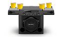 Sony laat nieuwe partyspeaker zien met ingebouwde bekerhouders