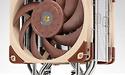 Noctua bindt twee NF-A12x25 fans vast aan CPU-koeler
