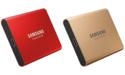Samsung biedt T5 externe SSD ook aan in rood en goud