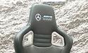 Computex: Mercedes-AMG Petronas gamestoel bij Noblechairs