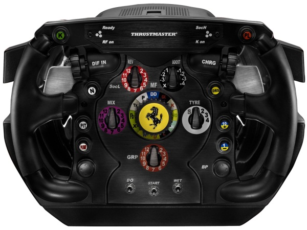 thrustmaster gaat complete ferrari formule 1 set aanbieden. Black Bedroom Furniture Sets. Home Design Ideas