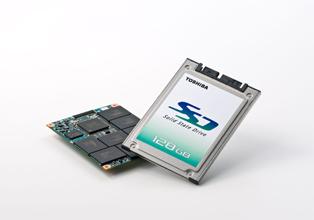 Toshiba legt de lat voor SSD's op 512GB voor eind 2009