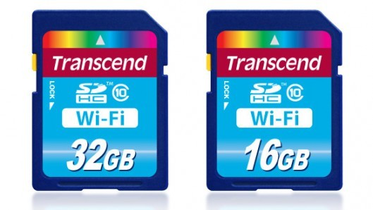 Transcend Wi-Fi SD Cards