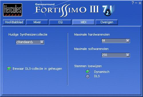 Gamesurround fortissimo iii 7.1