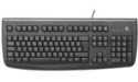 Logitech Deluxe 250 Keyboard Black USB