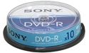 Sony DVD-R 16x 10pk Spindle