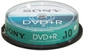 Sony DVD+R 16x 10pk Spindle