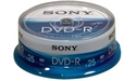 Sony DVD-R 16x 25pk Spindle