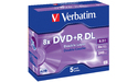 Verbatim DVD+R DL 8x 5pk Jewel case