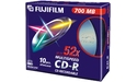 Fujifilm CD-R 52x 10pk Slim case