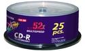 Fujifilm CD-R 52x 25pk Spindle