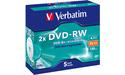 Verbatim DVD-RW 2x 5pk Jewel case