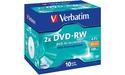 Verbatim DVD-RW 2x 10pk Jewel case